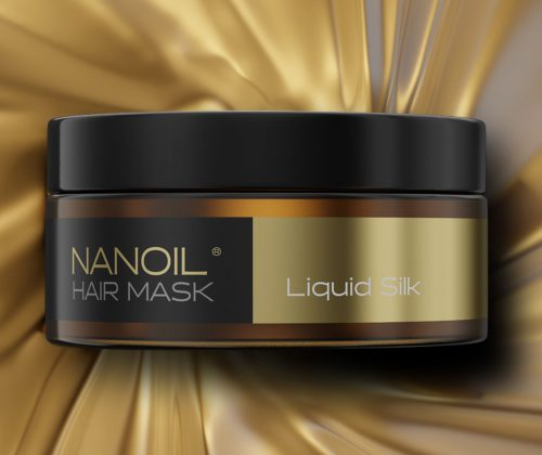 nanoil liquid silk maska do włosów
